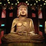 buddha dans le restaurant asiatique