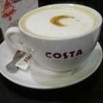 Our Hazelnut Latte at Costa Coffee