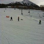 Ski slopes -Green Houston area - beginning