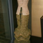 Cane Dress decoration in dining area