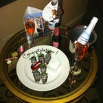 Chocolate Strawberries & Champagne