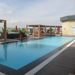 Rooftop pool, Fairmont Nile City - Cairo