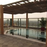 Rooftop kids pool area, Fairmont Nile City - Cairo