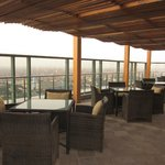 Rooftop area, Fairmont Nile City - Cairo