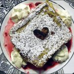 Our Valentine`s Special, Dark Chocolate Raspberry Cheesecake French Toast