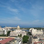 Downtown Havana from the roof of the Bacardi building