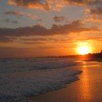 Sunrise from the hotel beach