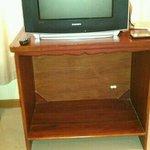 tv in room...
