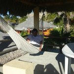 Hammock on our private deck above unit
