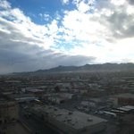 View of El Paso from room