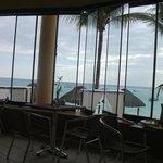 View from Buffet Area toward Beach