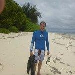 Snorkelling near villa