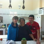 Mama and cousin