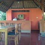 Beachfront dining room/bar