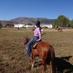riding across the pastures