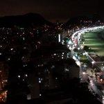 Aussicht aus dem Zimmer 2802 bei Nacht
