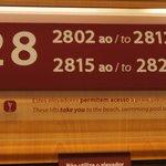 Stockwerkzimmer-Nummern