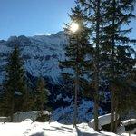 Schneewanderung Rasthysi nach Bort