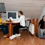 Family duplex room
