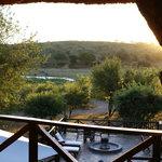 Kruger sunset over Crocodile river