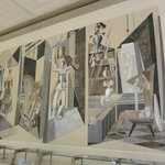 Marble Mural on the Wall