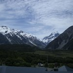 Mount Cook from our balcony.