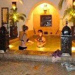piscine bain à remous