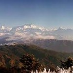 Kanchenjuga from te Bald patch