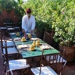 repas terrasse