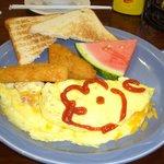 ロックンロールカフェ朝食