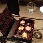 petit fours after the meal