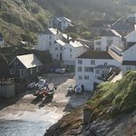 Portloe from the footpath