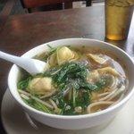 Cantonese won ton soup