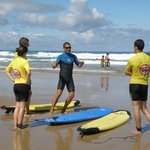 1er cours de surf Lagoondy