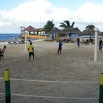 Beach Volleyball every afternoon