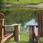 Enjoy and relax on the sound of the water: the river in your backyard