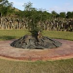 Memorial to the thousands of Zulu's that were killed or injured