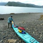 Sea Kayaking and remote beach combing