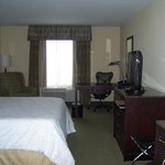 My single room with king bed