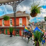 Balcony View of the French Quarter