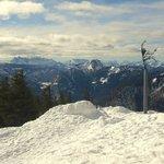 Winterliches Bergpanorama vom Rauschberg