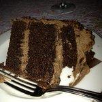 the Parisienne chocolate cake