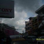Hotelsign/street