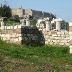 Byzantine Aqueduct opposing to Nazhan Hotel