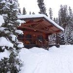 Coyote Cabin in Dec. 2012
