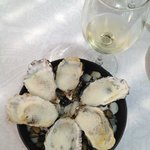 Champagne Oysters !! ( OMG = Heavenly !! )