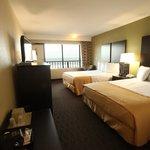 Oceanfront room with queen beds