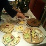The very nice buffet!