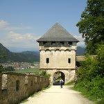Brama na zamku Hochosterwitz