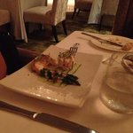 crab & asparagus starter